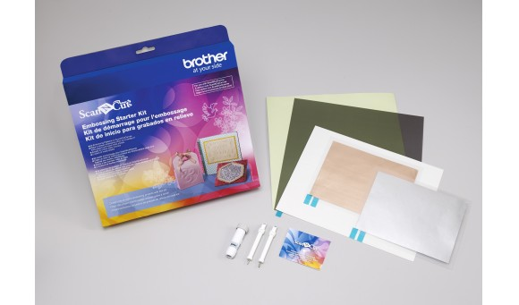 Brother Embossing – Starter Kit CAEBSKIT1