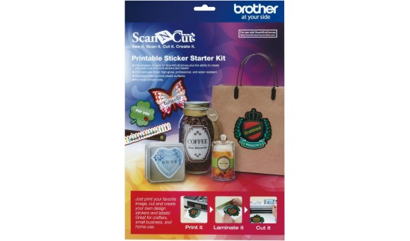 Brother Startpakket Printable Stickers CAPSKIT1