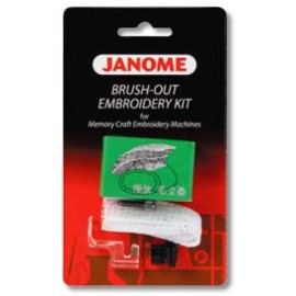 Janome Brush-out Borduurset verpakking